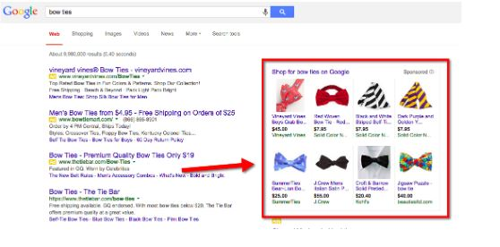 shopping campaigns example