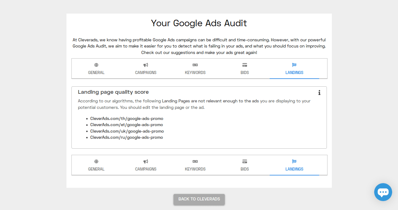 check your website quality