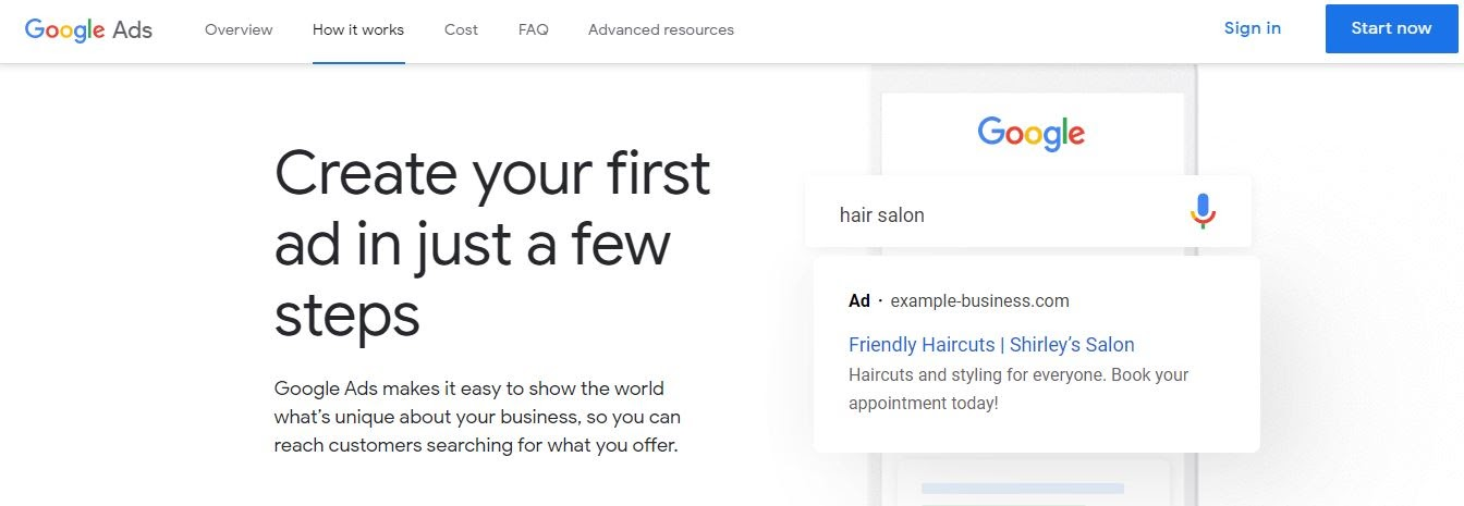 create your first google banner in a few steps