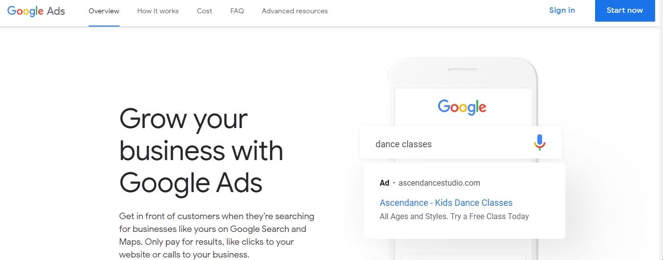 grow your business with google ppc