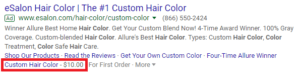 adwords ad extensions price
