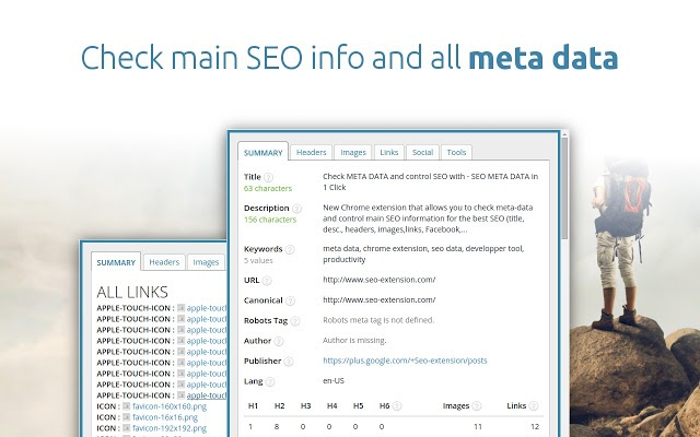 seo meta in 1 click seo chrome extension