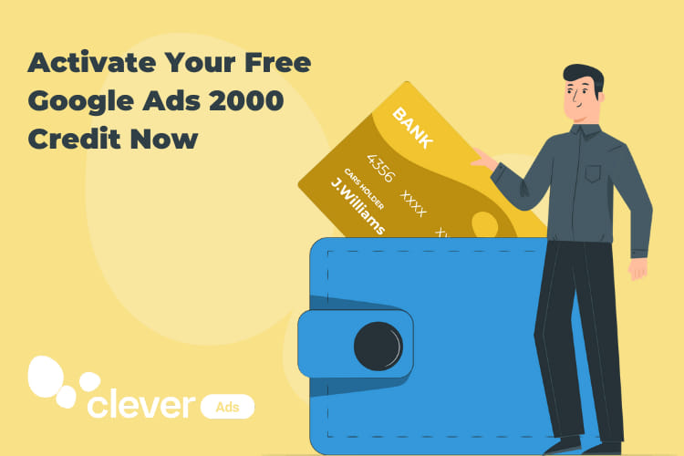 Activate Your Free Google 2000 Credit