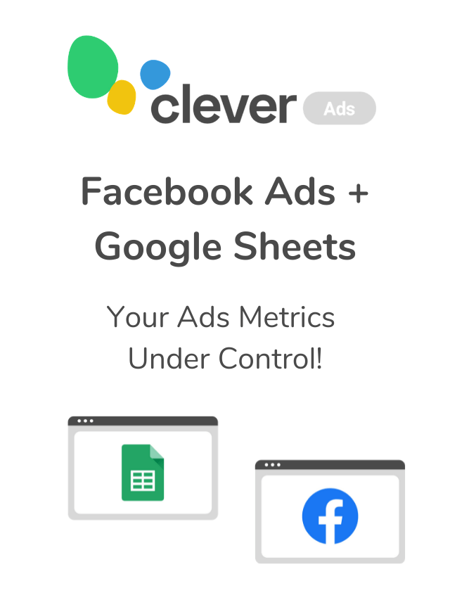 Facebook Ads directly on Google sheets