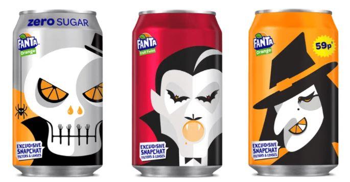 marketing de halloween fanta
